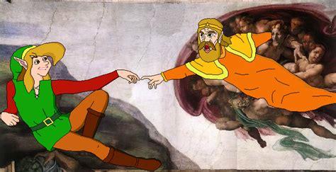 king harkinian creates link  thepoo  deviantart