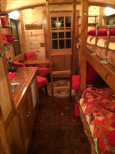tiny houses  red caboose