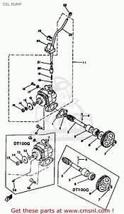 Yamaha Dt100 1978 Usa Oil Pump