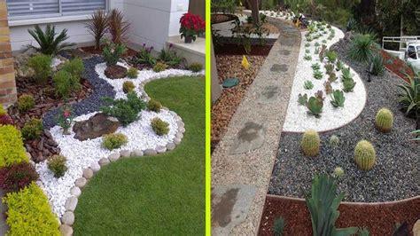 decorative stone ideas   garden elitflat