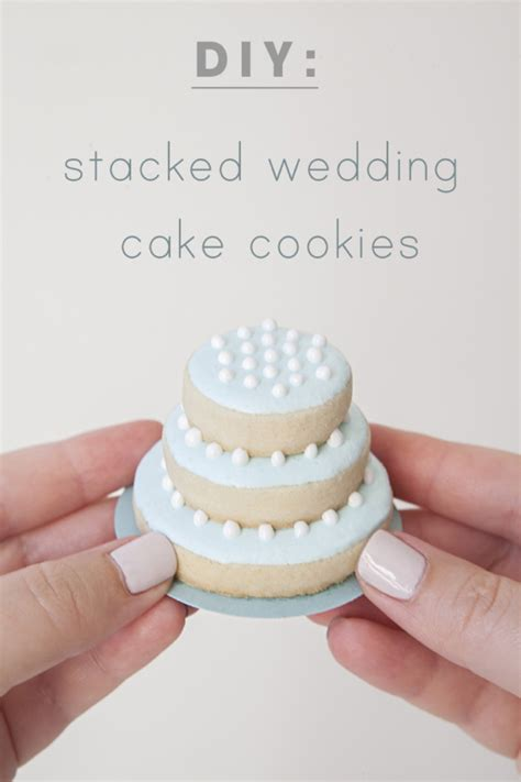 diy wedding cake cookies learn how to make these darling stacked wedding cookies