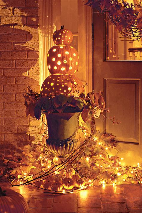 holiday living halloween lights 33 halloween pumpkin carving ideas southern living