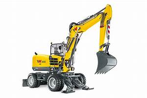Wheeled Excavators  U2013 Wacker Neuson Precise Operation  U2013 Cautrac