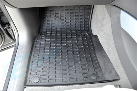 audi floor mats q5 audi q5 rubber floor car interior mats black rhd 8r tdi fsi tfsi quattro stronic ebay