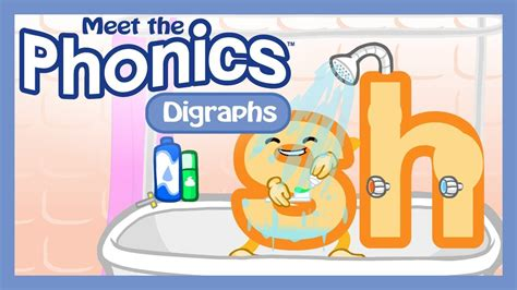 Meet The Phonics  Digraphs Preview Youtube