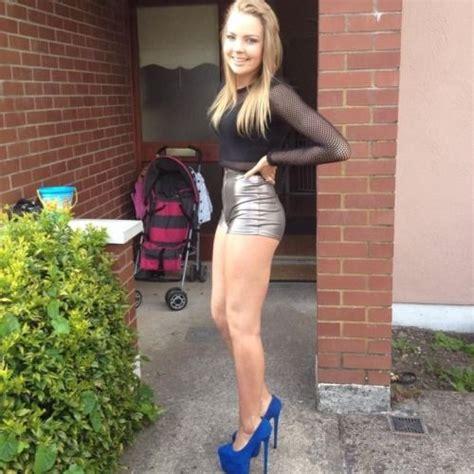 Teen Girls Short Tight Dress Skirt High Heels Sexy Erotic