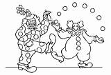 Circus Coloring Pages Children Funny Adult Print Printable Theme Justcolor sketch template