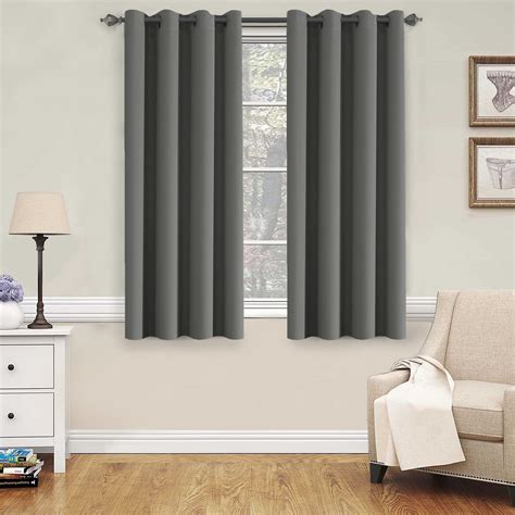 h versailtex blackout grey curtains for bedroom living