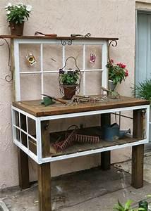 Gartendeko Aus Altem Holz : 55 ideen f r gartendeko aus alten fenstern und t ren ~ Frokenaadalensverden.com Haus und Dekorationen