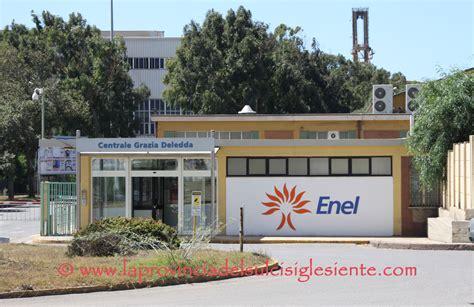 Uffici Enel Cagliari by La Rsu Della Centrale Termoelettrica Sulcis 232 Fortemente