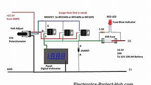 12v 100ah Battery Charger Circuit  U2013 Diy Electronics Projects