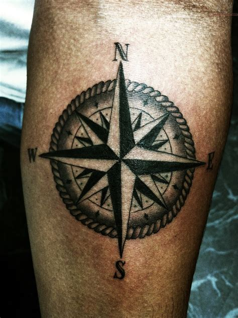 Compass Tattoos Designs, Ideas And Meaning  Tattoos For You