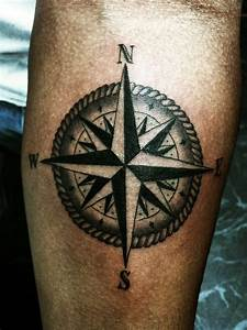 Compass Tattoos Designs, Ideas and Meaning | Tattoos For You  Simple