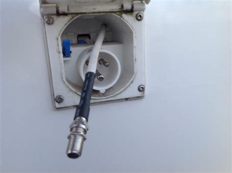 portable sat antenne wie verlege ich die kabel