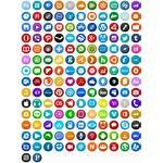 Circle Icon Icons Pack Social Seal Domain