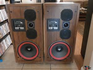 cerwin d 7 12 quot vintage floor speakers excellent condition photo 925948 us audio mart