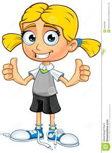 Girl Cartoon Characters with Blonde Hair