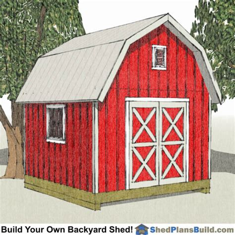 Garden Shed Plans 12x12 by Shed Plans By Sizes