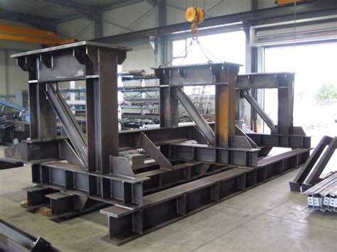 Bullermetallbaude Stahlbau
