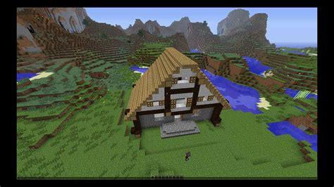 minecraft tudor style house build timelapse youtube