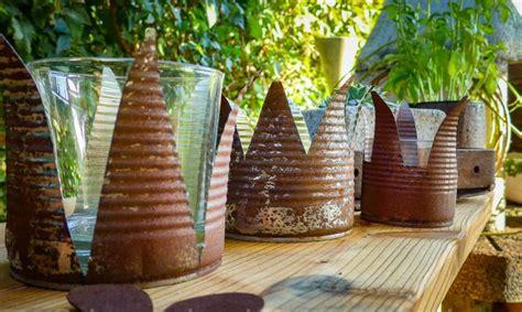 teelichthalter selber basteln weihnachten kronen teelichthalter selber basteln basteln und dekorieren