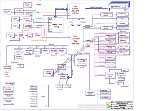 Dell Repair Diagram by Dell Precision M6800 Schematic Compal Var10 La 9781p