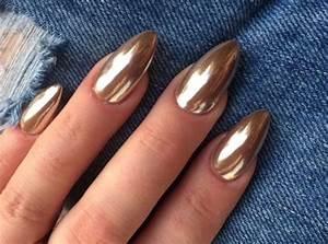 25 edgy metallic nails ideas to shine bright styleoholic