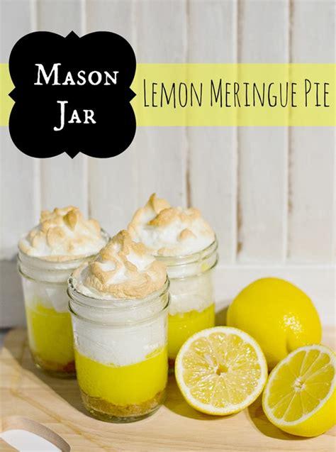 mason jar lemon meringue pie recipe