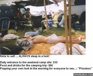 Priceless Tent - Picture - Dirty Button