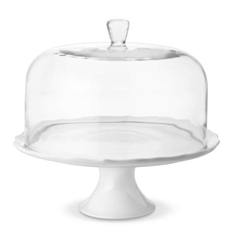 4484 cake stand with dome glass cake dome large williams sonoma