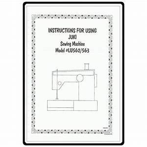 Instruction Manual  Juki Lu