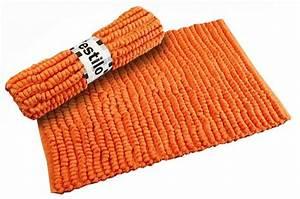 Tapis Salle De Bain Pas Cher : tapis de bain orange malo salle de bain pas cher declik deco ~ Edinachiropracticcenter.com Idées de Décoration