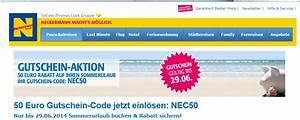Neckermann Gutscheincode 50 Euro : 50 euro neckermann gutschein f r pauschalreisen oder hotels ~ Orissabook.com Haus und Dekorationen