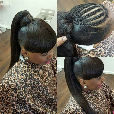 Sew In Ponytail Hairstyles by 1000 Ideas About Weave Ponytail On Weave
