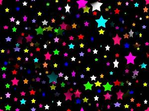 Neon Stars Colorful Background Wallpapers | Colorful ...