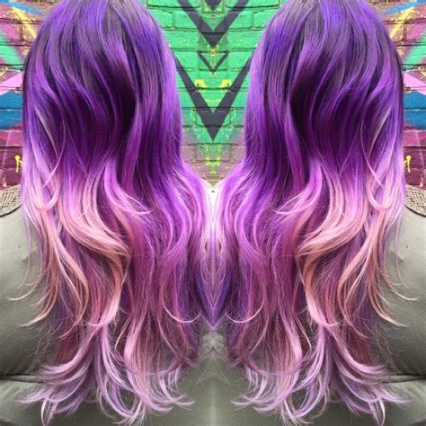 Beautiful Purple Ombre Hair Colors Hair Colors Ideas