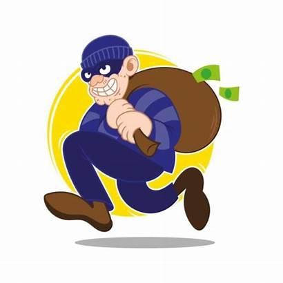 Thief Money Cartoon Dangerous Robbery Lexblog Stealing