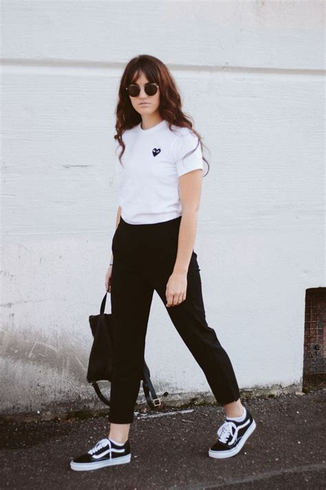 17 Best ideas about Black Vans Outfit on Pinterest | Vans outfit Casual outfits and Casual ...