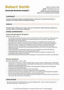Associate Business Analyst Resume Samples | QwikResume