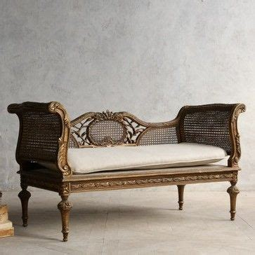 classic settees decorating with settees