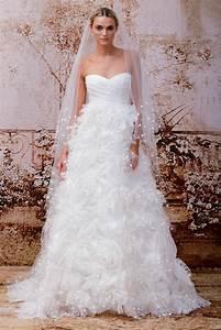 designer wedding dresses for 2014 by monique lhuillier With wedding dress designer monique lhuillier