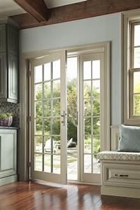 French In-Swing Patio Door - Wood, Vinyl & Fiberglass