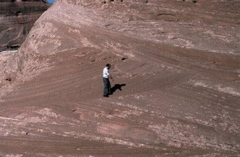 Trough Cross Bedding by Geology Info Sedshots Aeolian Dune Bedding