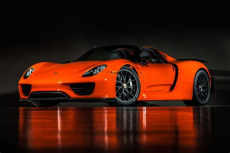 gallery continental orange porsche  weissach