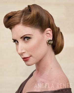 1940s Hairstyles Updo by 1940 S Updo 1940 S Hair Inspiration Retro Hairstyles