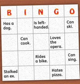 human bingo template read these numerous sle questions to play human bingo