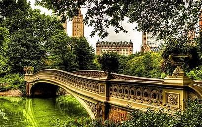 Central Park Background Wallpapers Bridge Backgrounds Bow