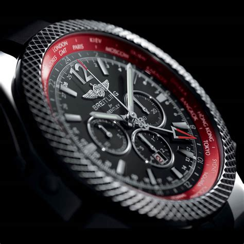 breitling bentley breitling for bentley gmt v8 photo gallery autoblog