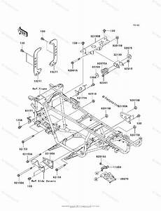 Kawasaki Atv 2008 Oem Parts Diagram For Engine Mount