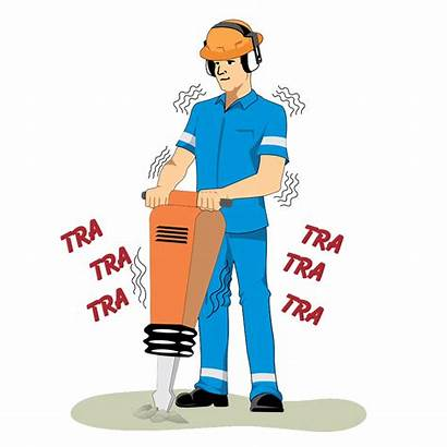 Clipart Construction Worker Drill Architecture Transparent Workers